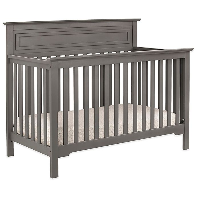 Alternate image 1 for DaVinci Autumn 4-in-1 Convertible Crib in Slate