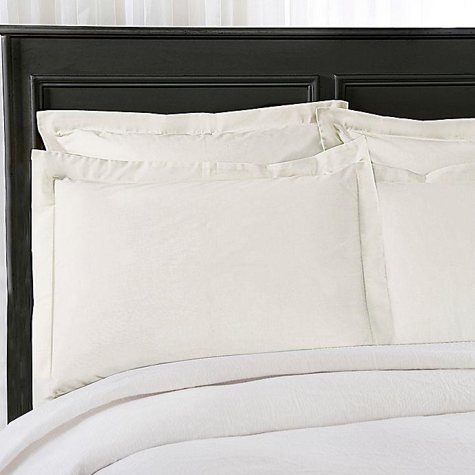 Alternate image 1 for Wrap-Around Wonderskirt King Pillow Sham in Ivory