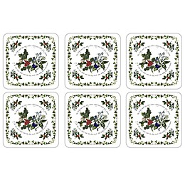 Portmeirion® Holly & Ivy Coasters (Set of 6)