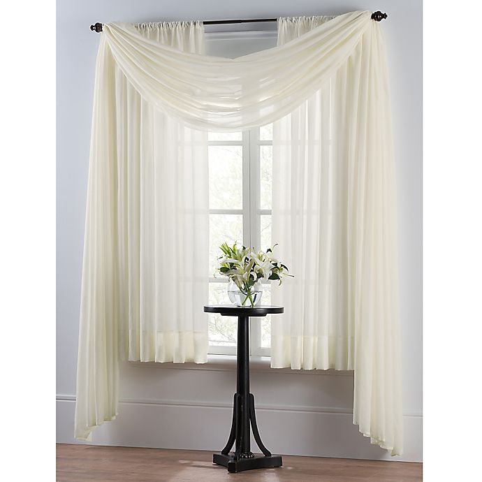 Smart Sheer Insulating Voile Window Curtain Panel Bed Bath And