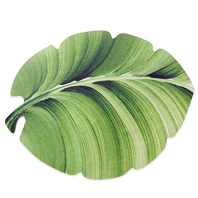 Alternate image 1 for Tropical Leaf Laminated Placemat