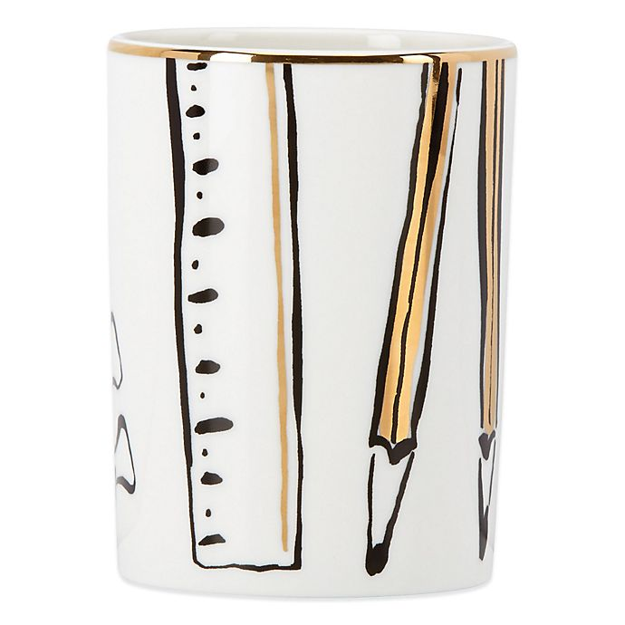 Alternate image 1 for kate spade new york Daisy Place™ Pencil Cup