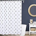 Lamont Home® Anchors 72-Inch x 72-Inch Matelassé Shower Curtain