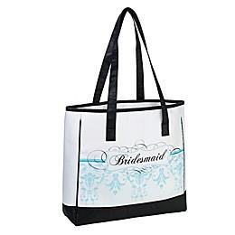 Lillian Rose™ Bridesmaid Tote Bag in Aqua