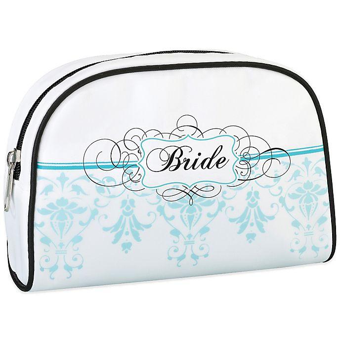 Alternate image 1 for Lillian Rose™ Bride Medium Travel Bag in Aqua