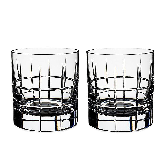 Alternate image 1 for Orrefors Street Whiskey Glasses (Set of 2)