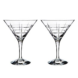 Orrefors Street Martini Glasses (Set of 2)