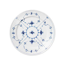 Royal Copenhagen Fluted Plain Bread and Butter Plate in Blue
