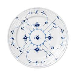 Royal Copenhagen Fluted Plain Salad Plate in Blue