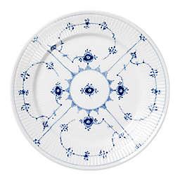 Royal Copenhagen Fluted Plain Dinner Plate in Blue
