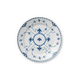 Royal Copenhagen Fluted Half Lace Dinner Plate in Blue