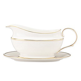 Lenox® Federal Gold™ Sauce Boat and Stand
