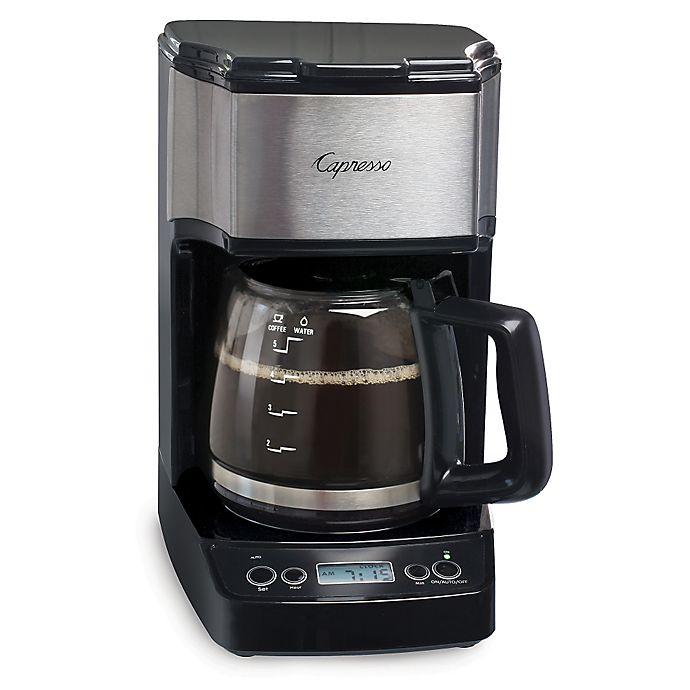 Alternate image 1 for Capresso® 5-Cup Mini Drip Programmable Coffee Maker