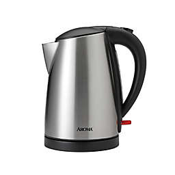 Aroma® Steel Electric Water Kettle