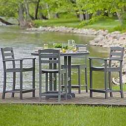 POLYWOOD® La Casa 5-Piece Outdoor Counter Dining Set