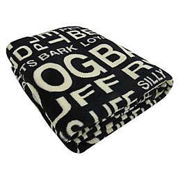 Park B. Smith® Good Dog Printed Fleece Throw