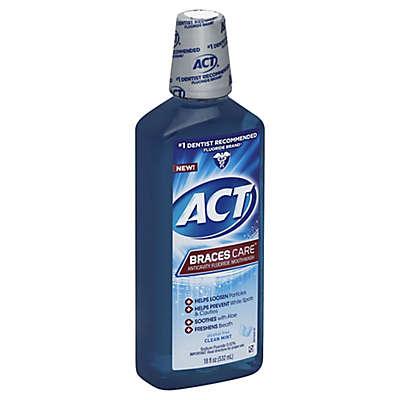 ACT® 18 oz. Braces Care™ Mouthwash in Clean Mint