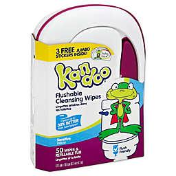 Pampers® Kandoo® 50-Count Sensitive Skin Flushable Wipes