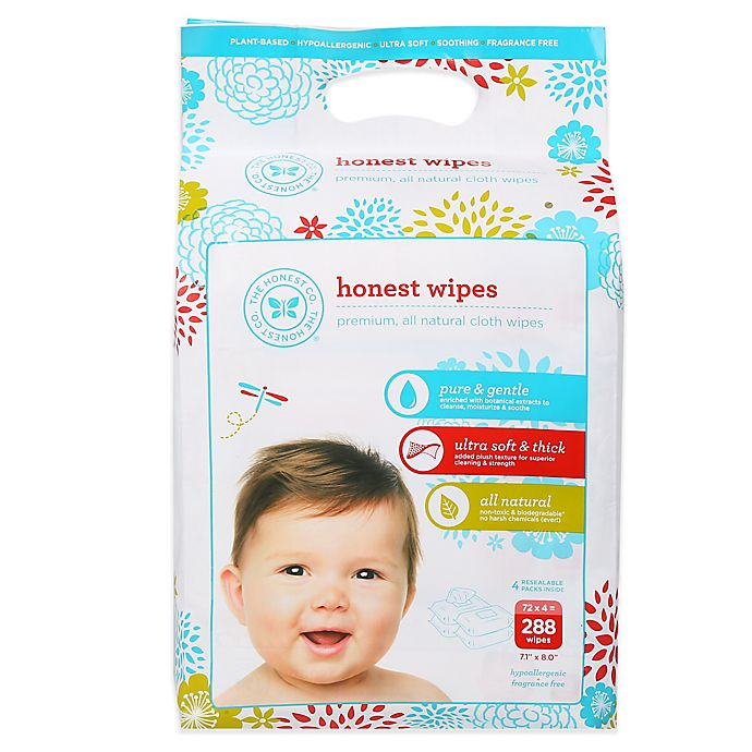 Alternate image 1 for The Honest Company® Classic 288-Count Unscented Baby Wipes