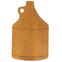 J.K. Adams 10.5-Inch x 6.5-Inch Growler Novelty Maple Cheese Board