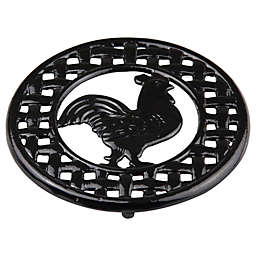 Home Basics® Rooster Trivet in Black