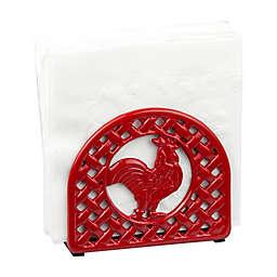 Home Basics® Rooster Napkin Holder in Red