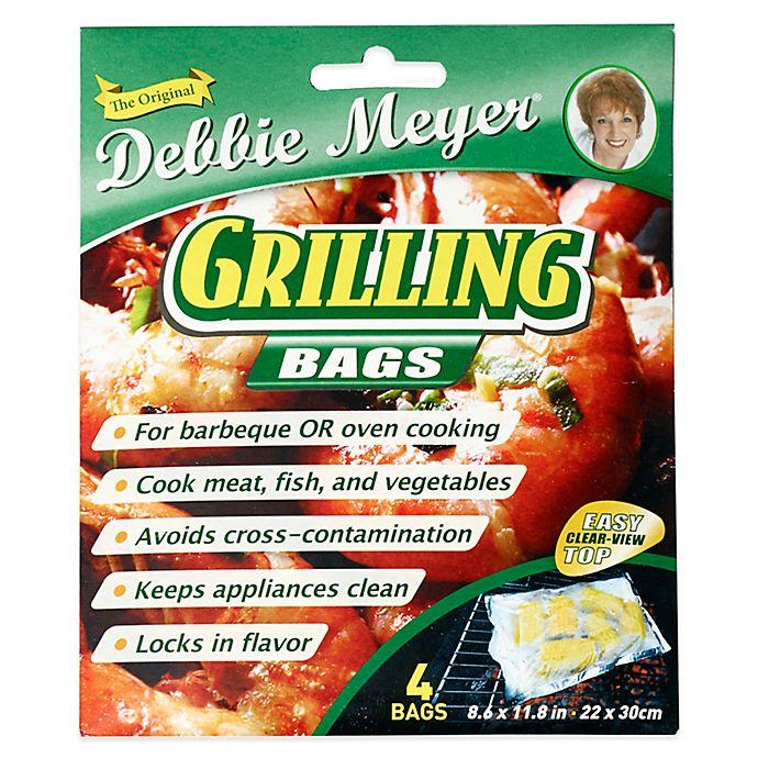 Alternate image 1 for Debbie Meyer® Grilling Bags (Set of 4)