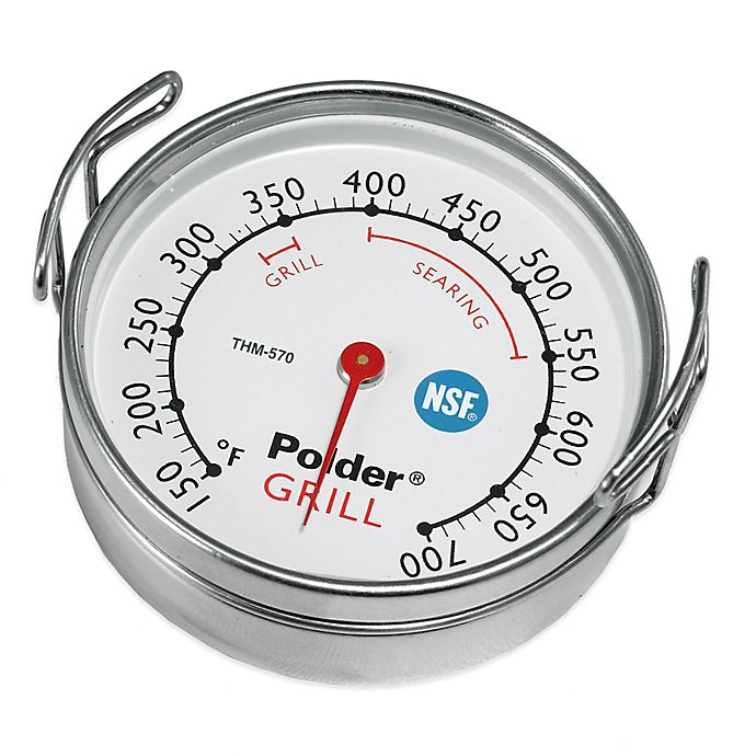 Alternate image 1 for Polder® Grill Surface Cooking Thermometer