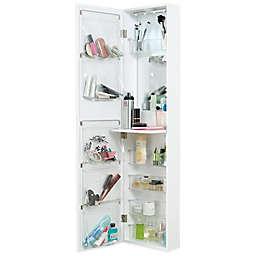 Door Solutions™ Over-the-Door Mirror and Cosmetic Organizer