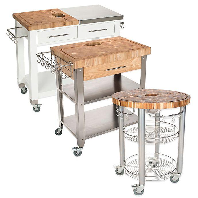 Alternate image 1 for Chris & Chris Pro Chef Kitchen Island Work Station