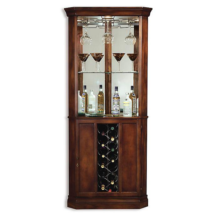 Alternate image 1 for Howard Miller Piedmont Wine & Bar Cabinet in Rustic Cherry
