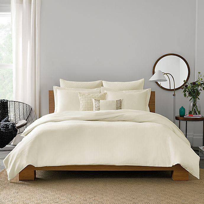 Alternate image 1 for Real Simple® Lattice Duvet Cover