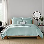 Real Simple® Lattice Standard Pillow Sham in Aqua