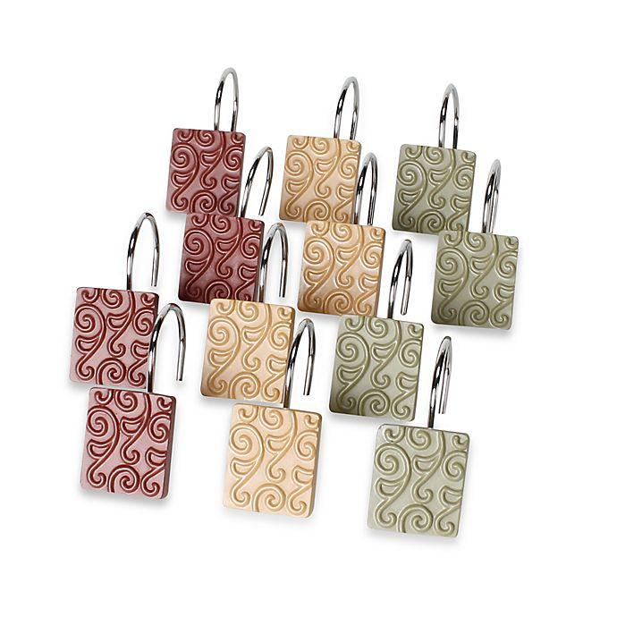 Inspire Shower Curtain Hooks Set Of 12