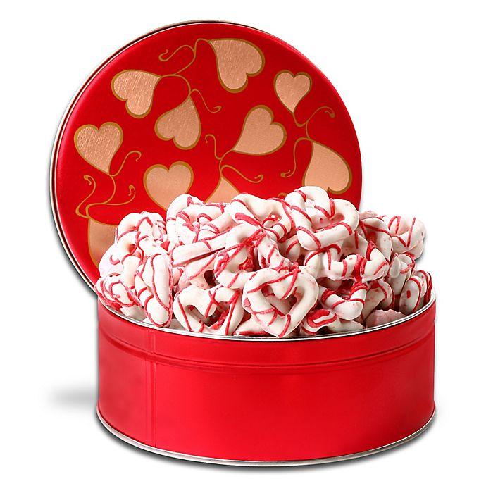 Alternate image 1 for Alder Creek Chocolate Dipped Heart-Shaped Pretzels
