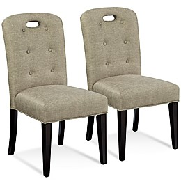 Bassett Mirror Company Bartlett Slot Back Chair (Set of 2)