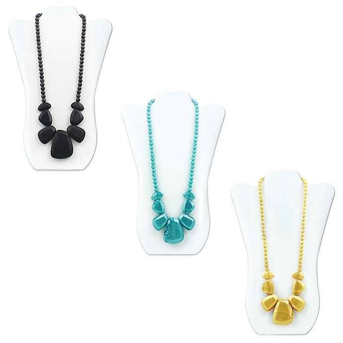 Alternate image 1 for Bumkins® Rocca Silicone Teething Necklace