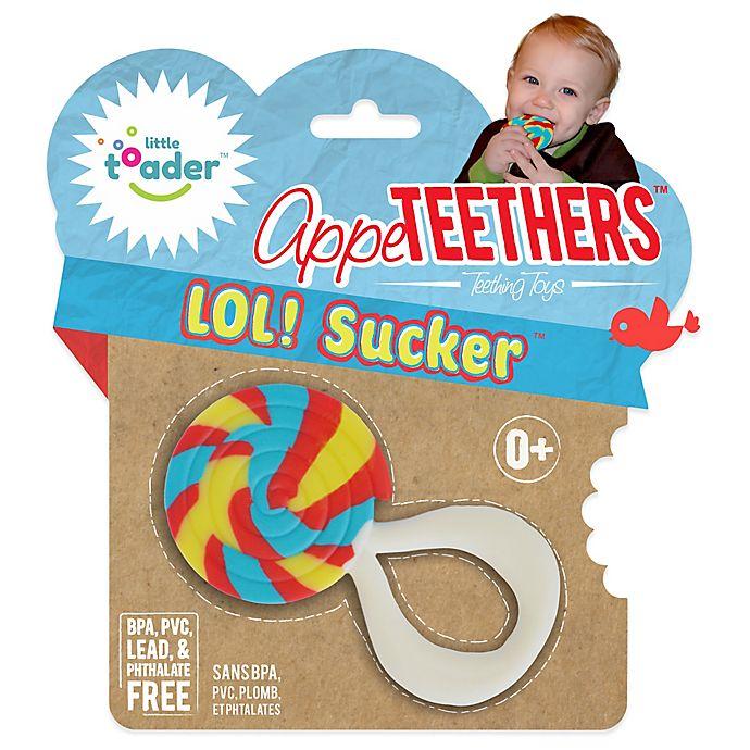 Alternate image 1 for Little Toader™ AppeTEETHERS™ LOL! Sucker™