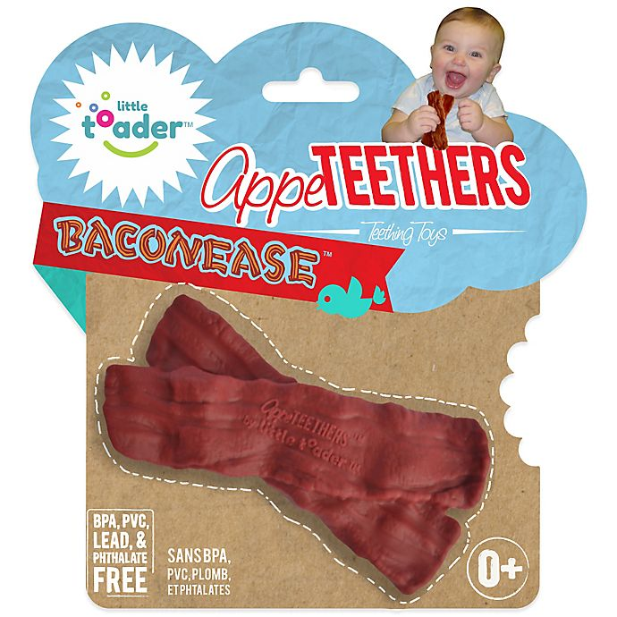 Alternate image 1 for Little Toader™ AppeTEETHERS™ Baconease™