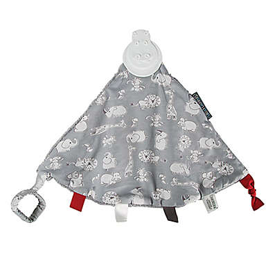 Cheeky Chompers® Comfortchew® Chewy & Co 2-in-1 Teether Blanket in Grey