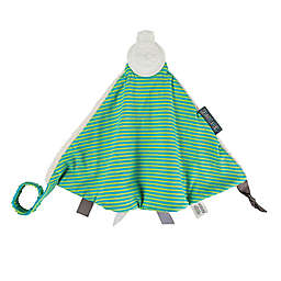 Cheeky Chompers® Comfortchew® Unistripe 2-in-1 Teether Blanket in Green/Turquoise/Cream