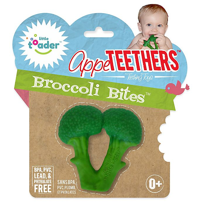 Alternate image 1 for Little Toader™ AppeTEETHERS™ Broccoli Bites™ in Green