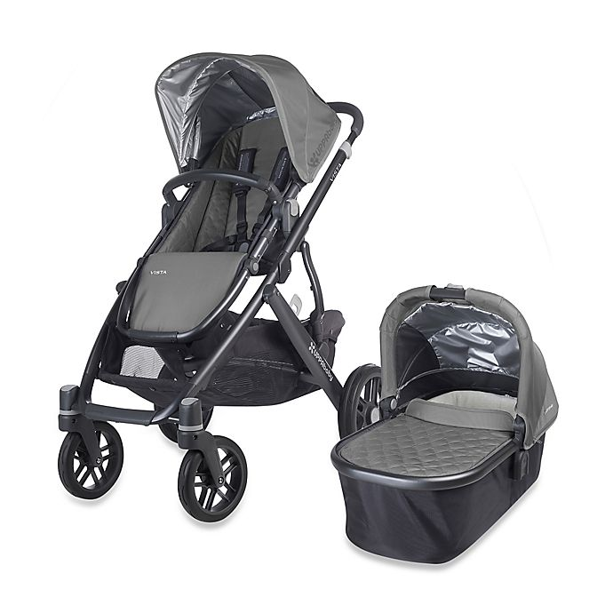 Alternate image 1 for UPPAbaby® VISTA Stroller and Bassinet in Pascal