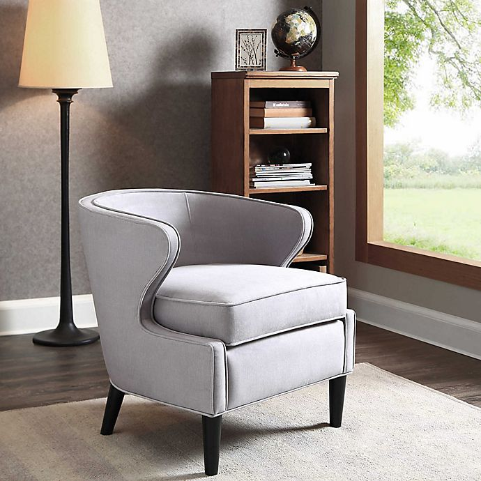 Alternate image 1 for Madison Park Lucca Chair in Silver Grey