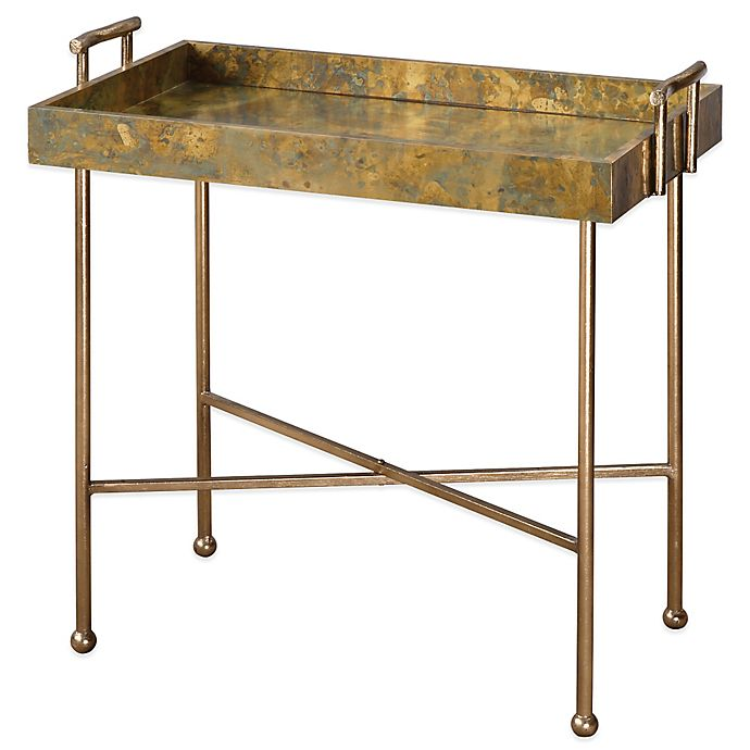 Alternate image 1 for Uttermost Couper Oxidized Tray Table