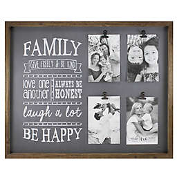 Fetco Home Décor™ Abbott 4-Photo Family Collage Frame