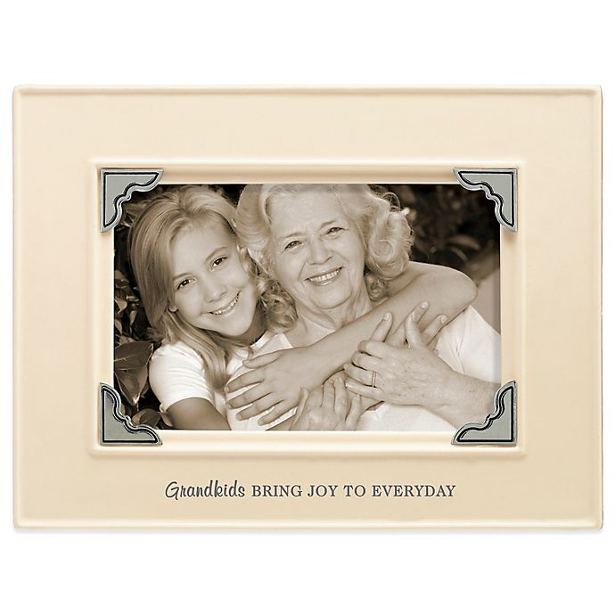 Grasslands Road® 4-Inch x 6-Inch Grandkids Sentiment Photo Frame in ...