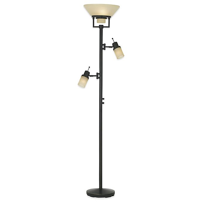 Alternate image 1 for Pacific Coast® Lighting Techno Chic Torchiere Floor Lamp