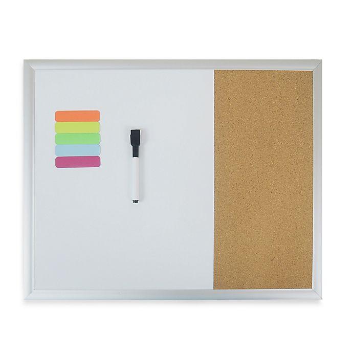 Alternate image 1 for Magnetic Dry Erase Combo Board