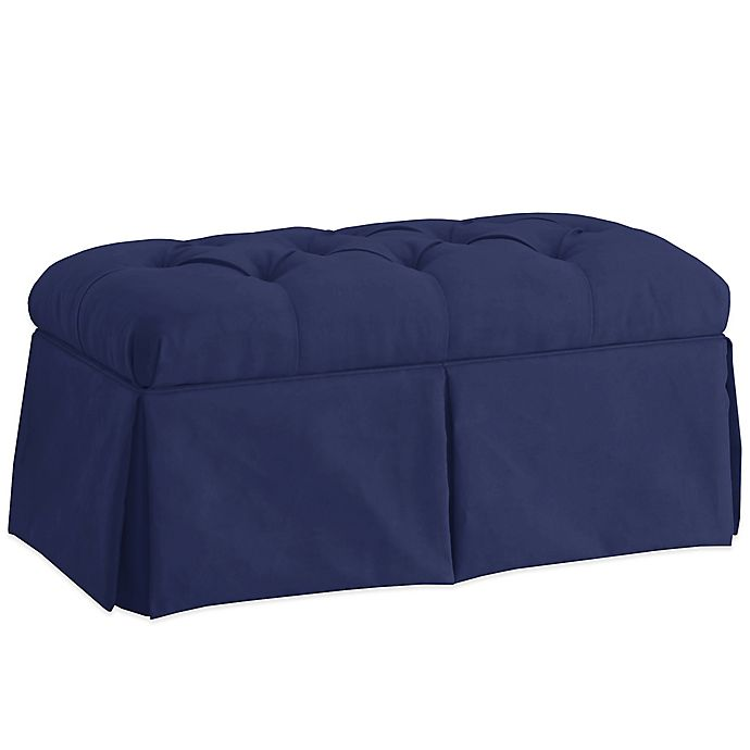 Alternate image 1 for Skyline Furniture Skirted Storage Bench